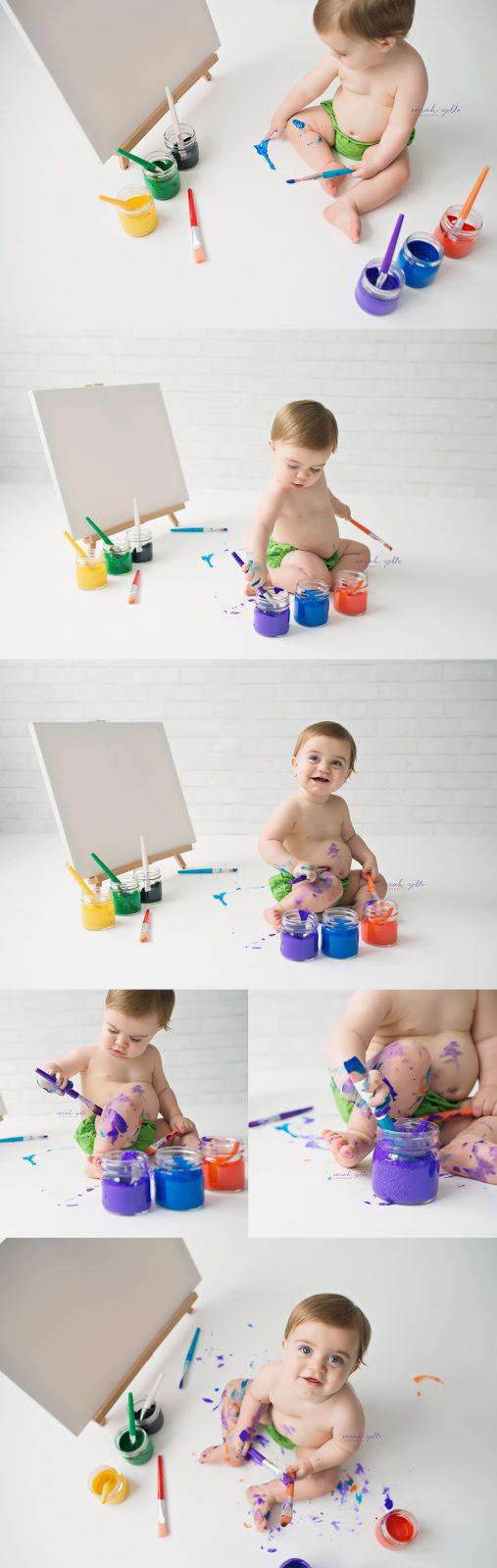 paint splash session