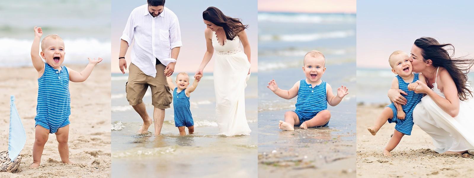 Sarah Zollo Family Beach Portrait